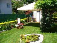 Озеленена градина в София