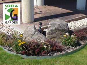 Скална градина - мини алпинеум в градина